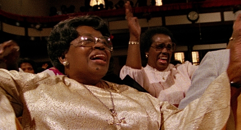The godmother of Gospel music, Willie Mae Ford Smith, in SAY AMEN, SOMEBODY, the 1982 classic Gospel documentary directed by George Nierenberg. Film to 4K digital restoration by Metropolis Post, New York: Jack Rizzo, Ian Bostick (restoration artist), Jason Crump (colorist) and Allen Perkins. Audio Restoration and 5.1 Sound by Audio Mechanics. Sound Engineer: John Polito. Restoration Produced by Milestone Film & Video, the Smithsonian National Museum of African American History and Culture and the Academy Film Archive. Funding by Robert F. Smith Fund Professional Curation Project and the Academy Film Archive. Supervised by George Nierenberg and Dennis Doros.