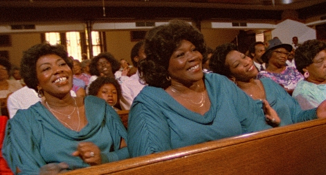 From left: Rodessa Barrett Porter, DeLois Barrett Campbell, Billie Barrett GreenBey (The Barrett Sisters) in Say Amen, Somebody, a 1982 gospel classic directed by George Nierenberg. Film to 4K digital restoration by Metropolis Post, New York: Jack Rizzo, Ian Bostick (restoration artist), Jason Crump (colorist) and Allen Perkins. Audio Restoration and 5.1 Sound by Audio Mechanics. Sound Engineer: John Polito. Restoration Produced by Milestone Film & Video, the Smithsonian National Museum of African American History and Culture and the Academy Film Archive. Funding by Robert F. Smith Fund Professional Curation Project and the Academy Film Archive. Supervised by George Nierenberg and Dennis Doros.